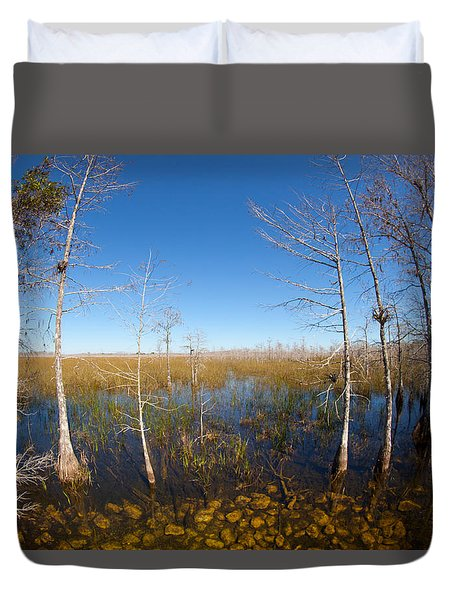 Everglades 85 Duvet Cover