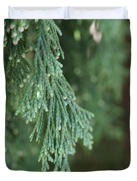 Evergreen Duvet Cover