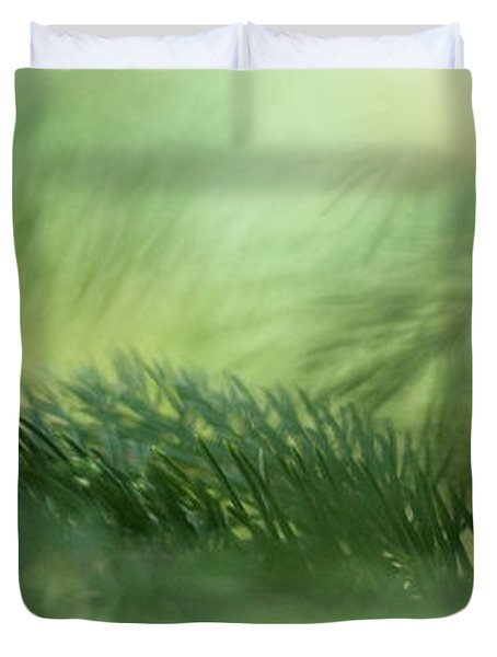 Evergreen Mist Duvet Cover