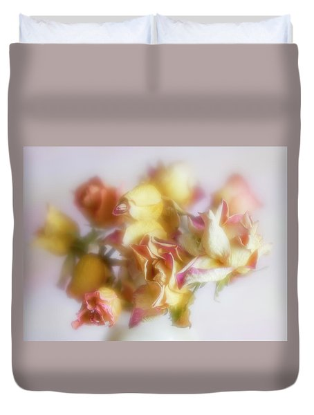 Everlasting Rose Buds Duvet Cover