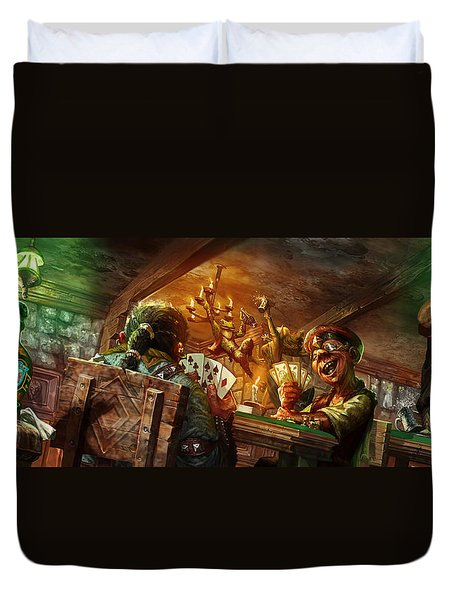 Everquest Brew Day Duvet Cover