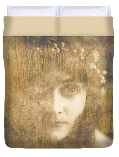 Duvet Cover featuring the painting Every Man Will Say That They Love You by Paul Lovering