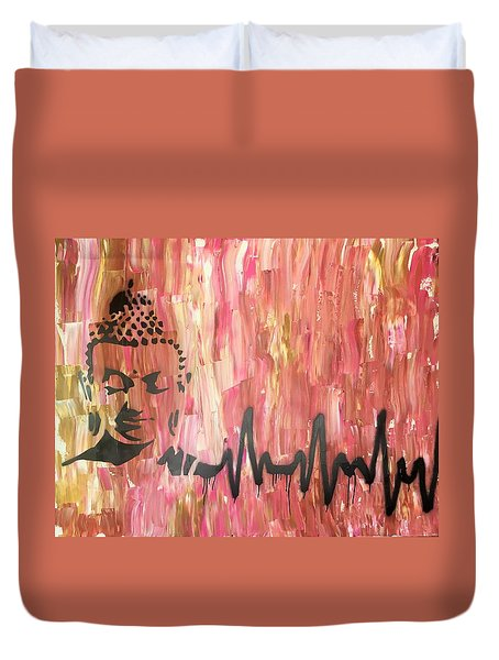 Everything Is Energy Duvet Cover