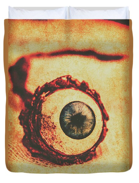 Evil Eye Duvet Cover