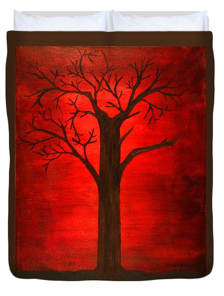 Evil Tree Duvet Cover