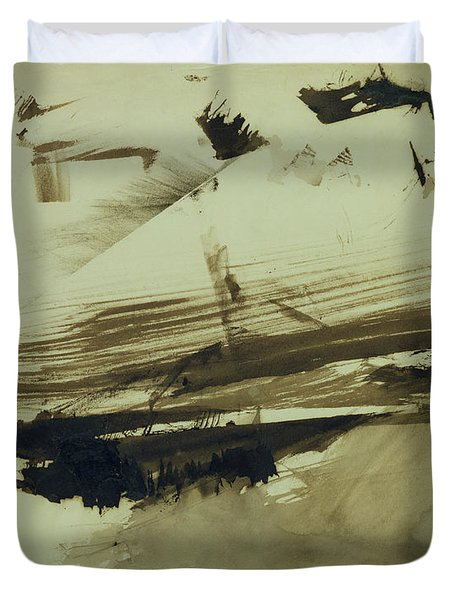 Evocation Of An Island Duvet Cover by Victor Hugo