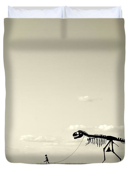 Evolution Duvet Cover by Todd Klassy
