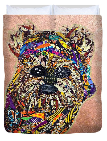 Ewok Star Wars Afrofuturist Collection Duvet Cover