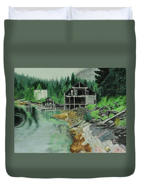 Ex-cannery Duvet Cover