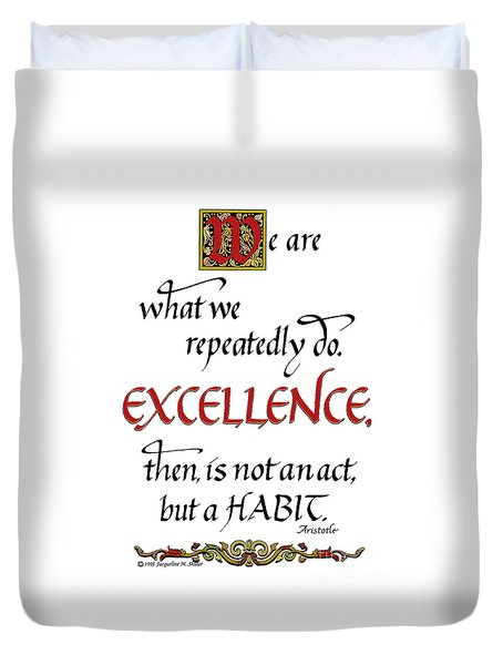 Excellence Duvet Cover