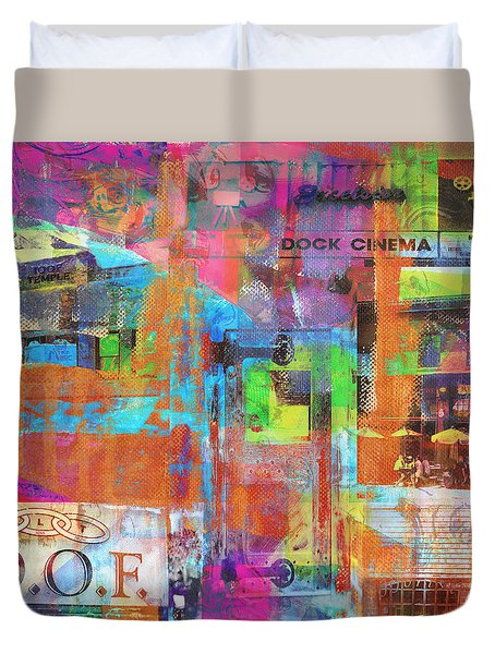 Excelsior Minnesota Duvet Cover by Susan Stone