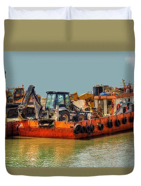 Excessive Cargo Duvet Cover