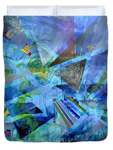 Excursions Of Vision Duvet Cover