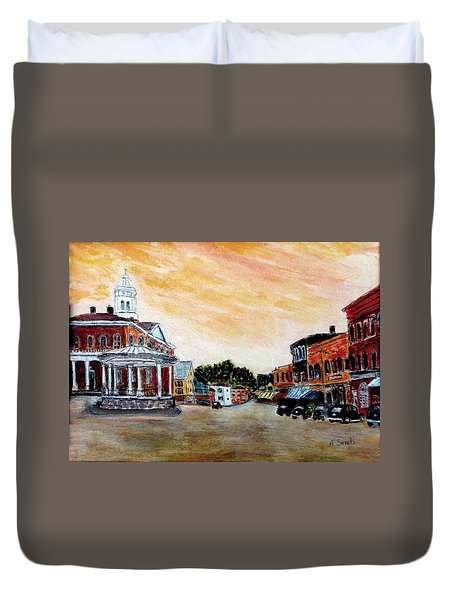 Exeter Nh Circa 1920 Duvet Cover