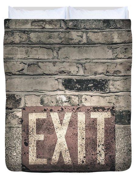 Exit Duvet Cover