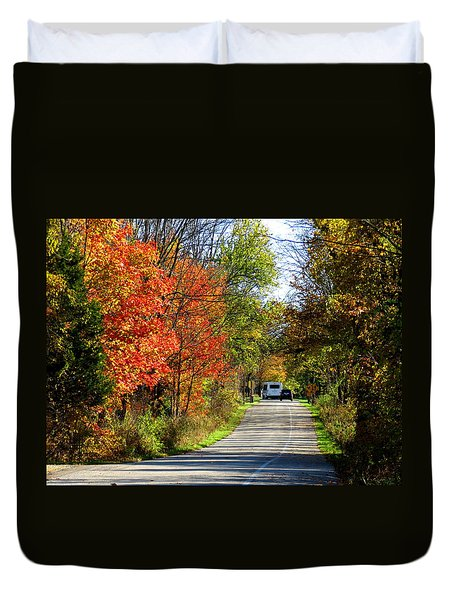Exit The Park Duvet Cover