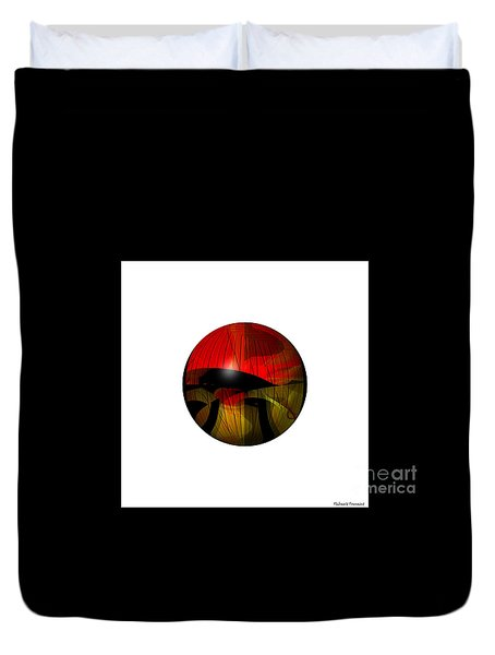 Exoplanet  Duvet Cover by Thibault Toussaint