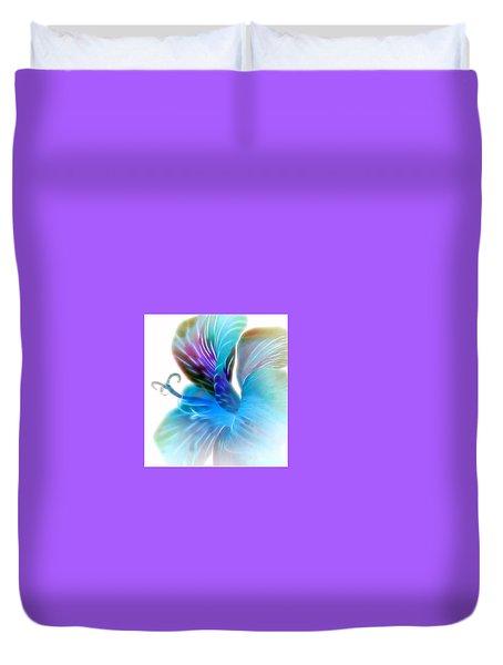 Exotic Glow Duvet Cover