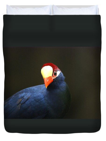Exotic Bird Duvet Cover by Heidi Poulin