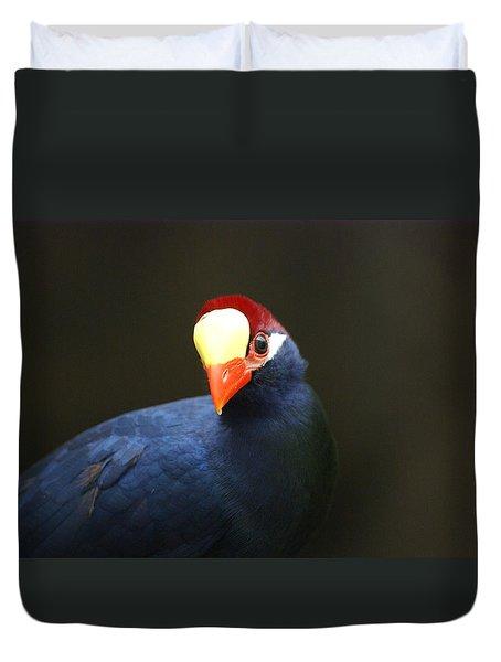 Exotic Bird Duvet Cover