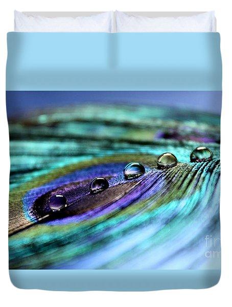 Exotic Drops Of Life Duvet Cover