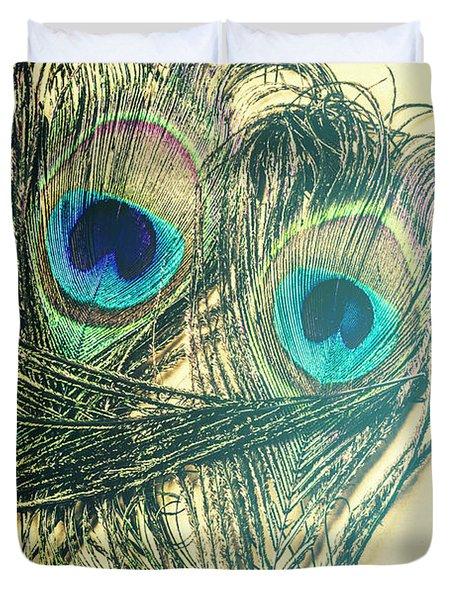 Exotic Eye Of The Peacock Duvet Cover