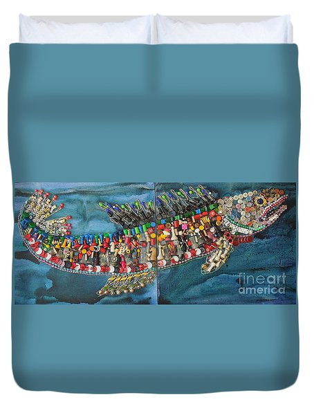Exotic Fish Duvet Cover