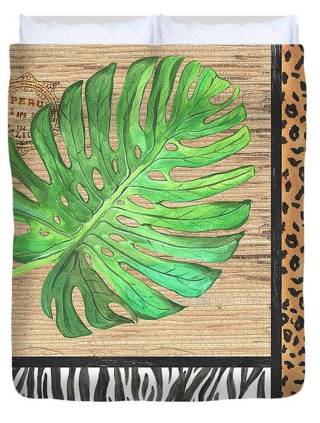 Exotic Palms 3 Duvet Cover