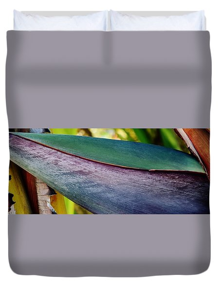 Duvet Cover featuring the photograph Exotic by Werner Lehmann