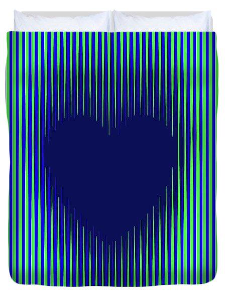 Expanding Heart 2 Duvet Cover
