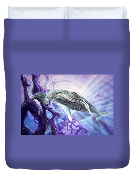 Expanse Duvet Cover by William Love