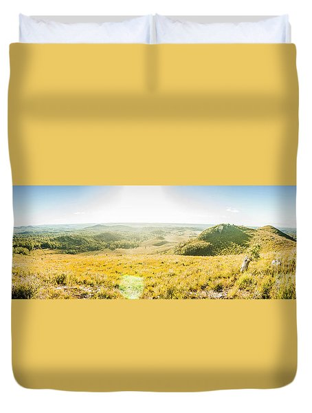 Expansive Open Plains Duvet Cover