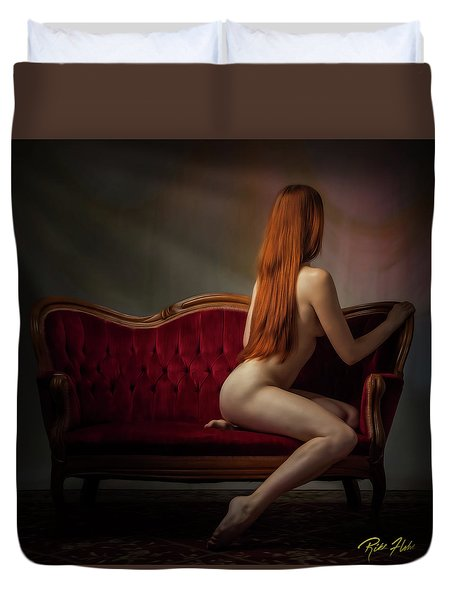Expectation Duvet Cover by Rikk Flohr