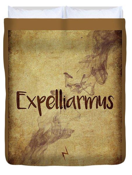 Expelliarmus Duvet Cover
