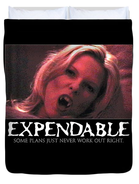 Expendable 1 Duvet Cover