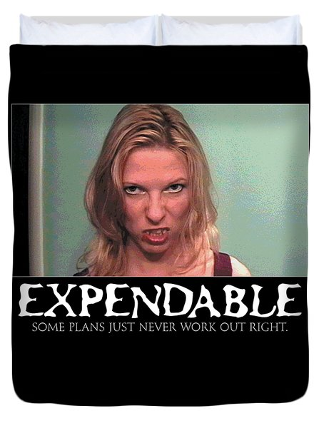 Expendable 10 Duvet Cover