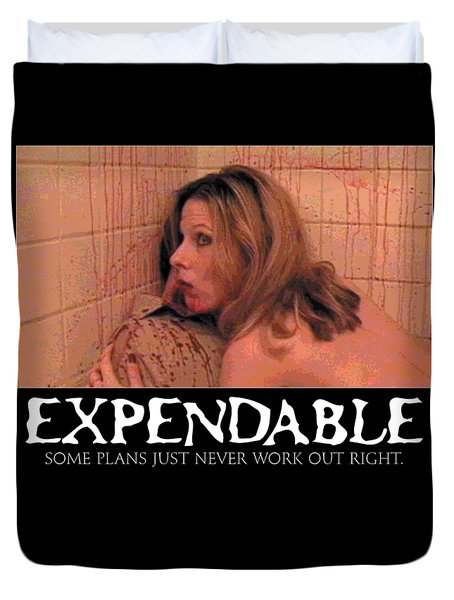 Expendable 14 Duvet Cover