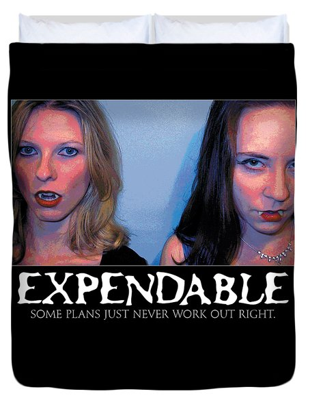 Expendable 15 Duvet Cover