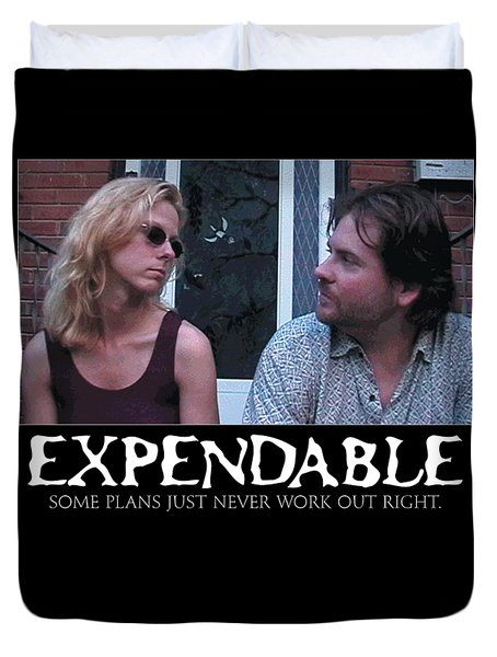 Expendable 2 Duvet Cover