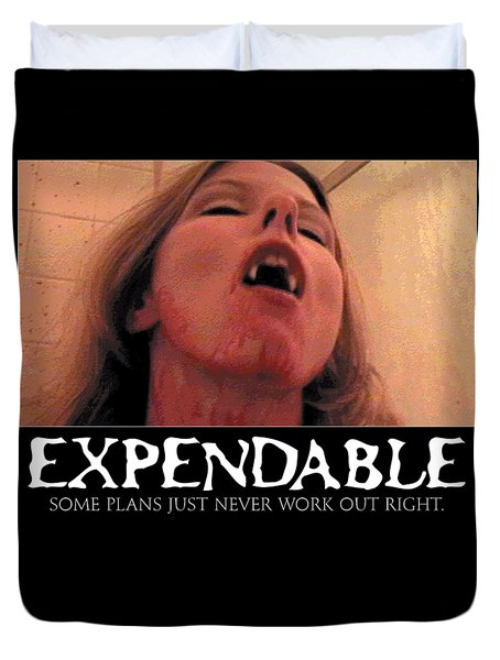 Expendable 8 Duvet Cover