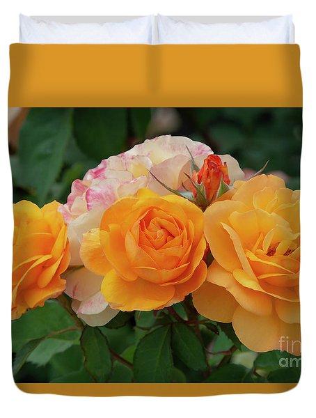 Experimental Roses 1 Duvet Cover