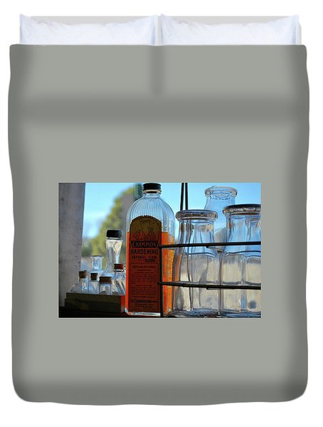 Expired On The Shelf Duvet Cover