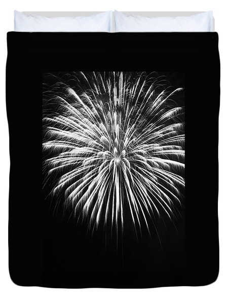 Explosion Duvet Cover by Colleen Coccia