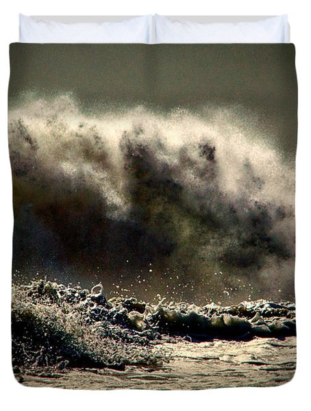 Explosion In The Ocean Duvet Cover