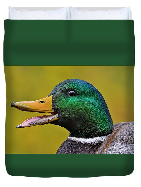 Duvet Cover featuring the photograph Express by Tony Beck