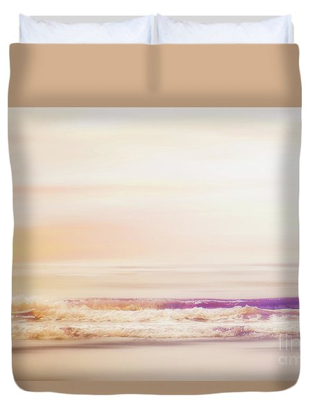 Expression - Dreams On The Shore Duvet Cover