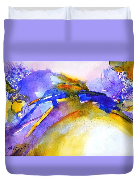 Expressive #3 Duvet Cover by Betty M M Wong