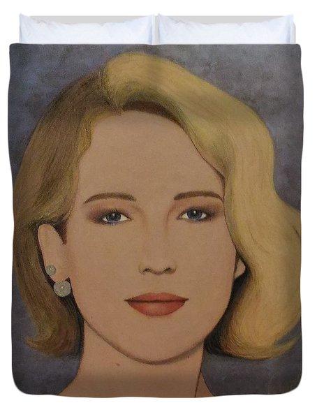 Exquisite - Jennifer Lawrence Duvet Cover