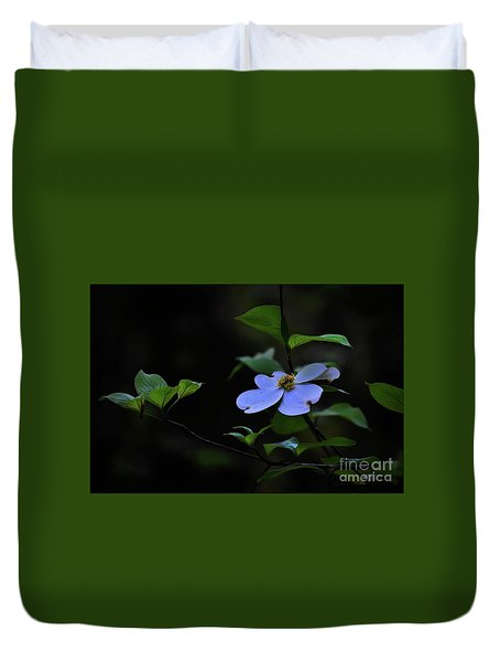 Duvet Cover featuring the photograph Exquisite Light by Skip Willits