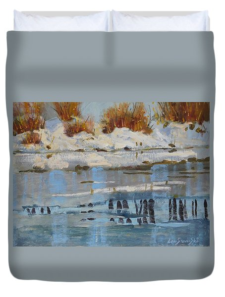 Extra Thin Ice Duvet Cover